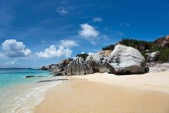 Stunning beach at Caribbean Stock Image