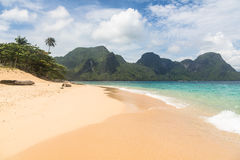 Stunning beach in El Nido, Philippines Royalty Free Stock Photos