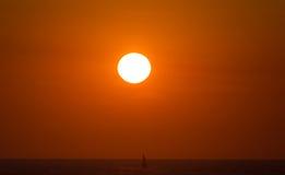 Stunning Beach sunset Royalty Free Stock Photo