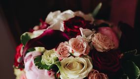 Stunning beautiful bouquet of flowers. Close up.