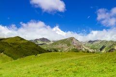 Stunning beautiful bright summer landscape Stock Photography