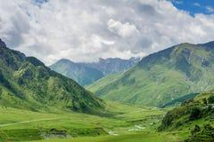 Stunning beautiful bright summer landscape Royalty Free Stock Photography