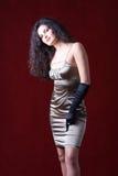 Stunning beautiful fashion model Stock Images