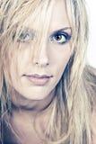Stunning Blonde Haired Girl Stock Photos