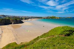 Tolcarne Beach Newquay Cornwall England Royalty Free Stock Images