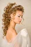 Stunning bride Stock Photos