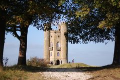 Broadway Tower, Worcestershire, England royalty free stock images