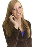 Stunning Business professional talks on phone Stock Photography