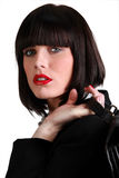 Stunning businesswoman Stock Photos