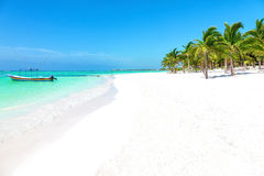 Stunning Caribbean beach Stock Photos