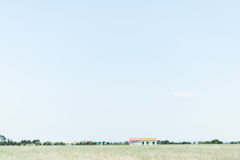 Stunning Clear Countryside Royalty Free Stock Image