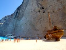 Stunning cliffs - Shipwreck Bay Stock Photography