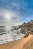 Stunning coastal trails (Caminos de ronda -Camins de Ronda)  - L Royalty Free Stock Images