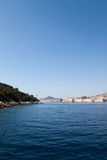 Stunning Coastline. The beautiful coastline of Dubrovnik, Croatia Royalty Free Stock Photo