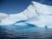 Stunning colors and shapes of an Antarctic iceberg Stock Photo
