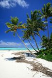 Stunning Cook islands Lagoon Royalty Free Stock Photography