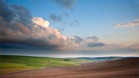 Stunning escarpment countryside landscape Royalty Free Stock Photography