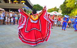Stunning Мexican costumes Stock Image