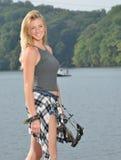 Stunning female archer Stock Photography
