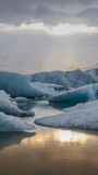 Stunning glacier lagoon of Iceland. Majestic nature beauty Royalty Free Stock Photos