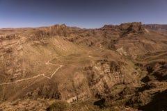 Stunning Gran Canaria landscape Stock Image