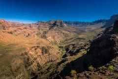 Stunning Gran Canaria landscape Stock Photo