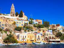 Stunning Greek Island Royalty Free Stock Images