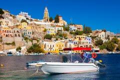 Stunning Greek Island Stock Image