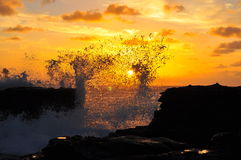 Stunning Hawaii sunrise Stock Image