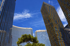 Stunning hotel complex, Las Vegas. Hotel complex with high rise buildings, Las Vegas, Nevada Royalty Free Stock Images