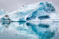 Stunning icebergs floating on the lake, Iceland Stock Image