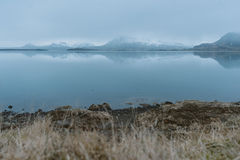 Stunning Iceland landscape photography. Traveling from Icy fjords to snowy mountains to ice lagoons. Photos shot during i road trip while driving the full ring Royalty Free Stock Photography
