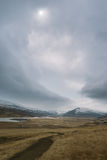 Stunning Iceland landscape photography. Traveling from Icy fjords to snowy mountains to ice lagoons. Photos shot during i road trip while driving the full ring Royalty Free Stock Images