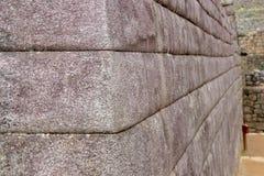 The Inca Ruins at Machu Picchu. The stunning Inca ruins at Machu Picchu, Peru with their intricate masonry skills stock photography