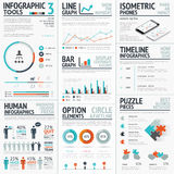 Stunning infographic elements vector set for your  Royalty Free Stock Image