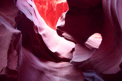 Stunning interior of Antelope Canyon Stock Photos