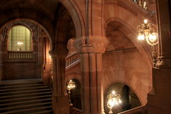Stunning interior architecture of Albany's State House, New York,2015 Royalty Free Stock Photos