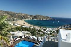 Stunning Ios in Greece royalty free stock photos