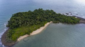 Stunning island off the coast of Koh Chang, Thailand. royalty free stock photos