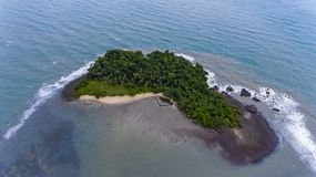 Stunning island off the coast of Koh Chang, Thailand. royalty free stock photography