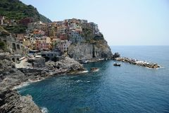 Stunning Italy - village of Manorola Royalty Free Stock Image