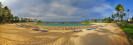 Stunning Koolina Resort Panoramic hawaii Stock Photos