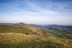 Stunning landscape of Chrome Hill and Parkhouse Hill Stock Photography
