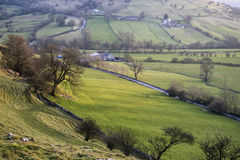 Stunning landscape of Chrome Hill and Parkhouse Hill Royalty Free Stock Photo