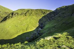 Stunning landscape of Lake District National Park,Cumbria,Uk Royalty Free Stock Photo