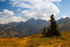 Stunning landscape in the Schladming Royalty Free Stock Images