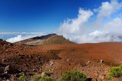 Stunning landscape view of Haleakala volcano area seen from the summit. Maui, Hawaii. USA Stock Photography
