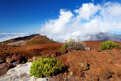 Stunning landscape view of Haleakala volcano area seen from the summit, Maui, Hawaii Stock Image