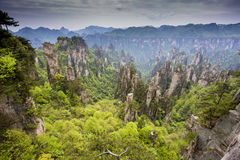 Stunning landscape, Zhangjiajie China Stock Images