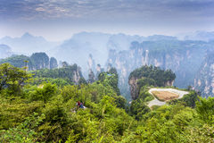 Stunning landscape, Zhangjiajie China Royalty Free Stock Images